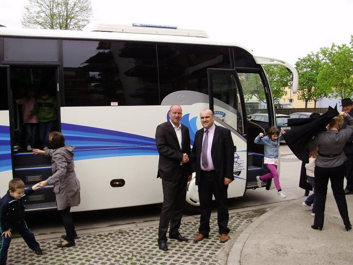 Primopredaja autobusa grad Županja