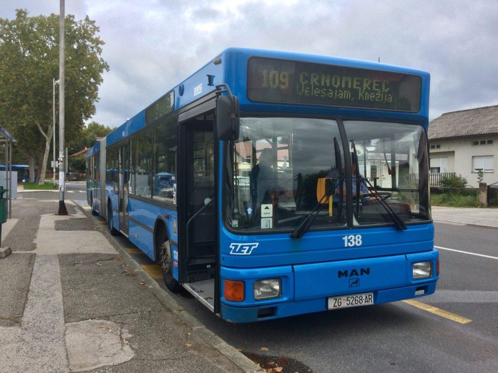 MAN NG312 iz 1996 u zagrebačkom ZET
