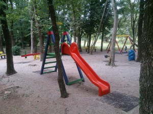 holiday home kornelija - children playground slide