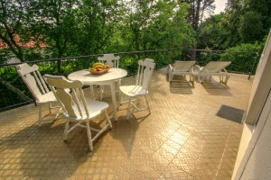 Apartment - holiday home kornelija - terrace2
