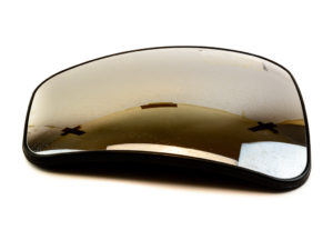 mercedes auxiliary mirror glass