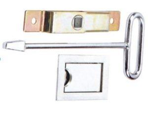 flap lock square key