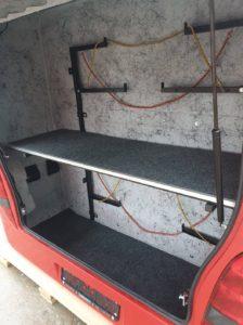 setra ski box interior