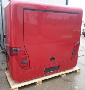 ski box for setra hdh, dt