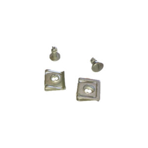 Engine protection bolt and nut